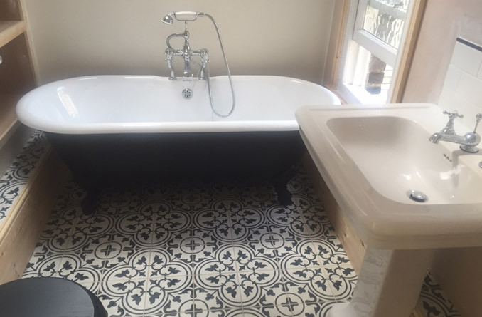 Cambridge – Lyndewode Road – Bathroom Project